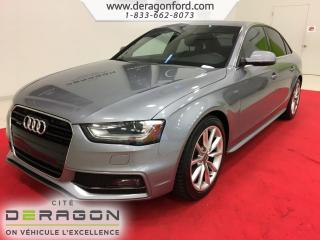 Used 2015 Audi A4 Progressiv Plus + S for sale in Cowansville, QC