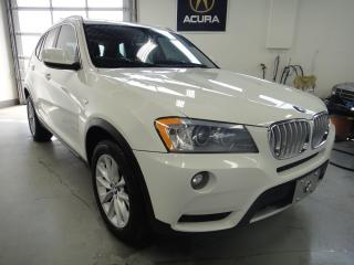 Used 2011 BMW X3 FULLY LOADED,PANO ROOF,NAVI for sale in North York, ON