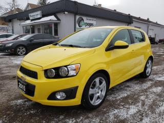 Used 2015 Chevrolet Sonic LT Auto 5-Door for sale in Bloomingdale, ON