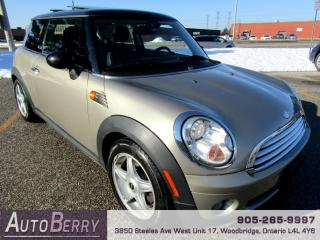 Used 2007 MINI Cooper 1.6L - FWD - PANO for sale in Woodbridge, ON