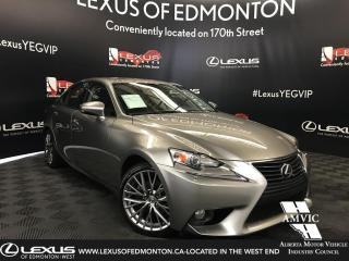 Used 2014 Lexus IS 250 PREMIUM PACKAGE for sale in Edmonton, AB
