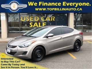 Used 2013 Hyundai Elantra GLS, Auto, Bluetooth, Heated Seats for sale in Vaughan, ON