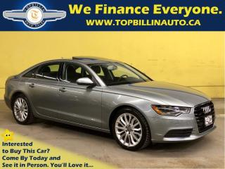 Used 2014 Audi A6 3.0L TDI Technik for sale in Vaughan, ON