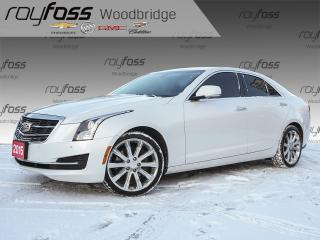 Used 2015 Cadillac ATS 2.0T AWD, NAV, SUNROOF, BOSE for sale in Woodbridge, ON