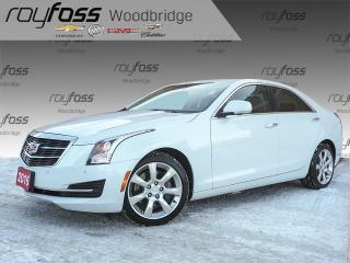 Used 2016 Cadillac ATS 2.0T BOSE, SUNROOF, HEATED WHEEL for sale in Woodbridge, ON