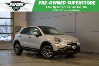 Used 2017 Fiat 500 X Trekking - ow kms, clean carproof, well equipped for sale in London, ON