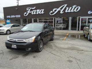 Used 2009 Ford Focus AUTO SES LEATHER & SUNROOF for sale in Scarborough, ON
