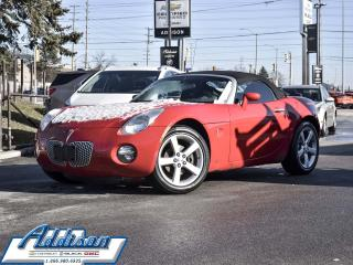 Used 2007 Pontiac Solstice 2D Convertible - Low Mileage for sale in Mississauga, ON