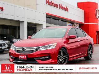 Used 2017 Honda Accord SPORT|SERVICE HISTORY ON FILE|NO ACCIDENTS for sale in Burlington, ON