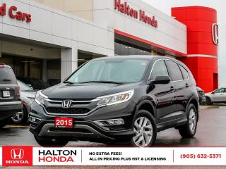 Used 2015 Honda CR-V EXL|SERVICE HISTORY ON FILE|ACCIDENT FREE for sale in Burlington, ON