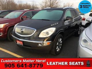 Used 2011 Buick Enclave CXL  LEATH DUAL-ROOF CAM P/GATE MEM 7-PASS REAR-AC BT 19