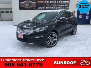 Used 2015 Lincoln MKC Base  TECH-PKG ADAP-CC LD SELF-PARK NAV ROOF CAM CS P/GATE for sale in St. Catharines, ON
