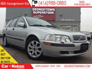 Used 2001 Volvo V40 A | YOU CERTIFY YOU SAVE | SPECIAL for sale in Georgetown, ON