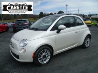 Used 2012 Fiat 500 - for sale in East broughton, QC