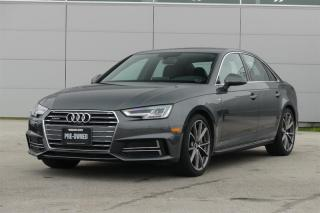 Used 2017 Audi A4 2.0T Technik quattro 7sp S tronic *S-Line* for sale in Vancouver, BC