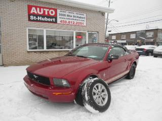 Used 2006 Ford Mustang CONVERTIBLE ** TOIT NEUF ** for sale in St-Hubert, QC