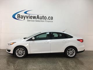 Used 2015 Ford Focus - SYNC! REVERSE CAM! HTD SEATS! CRUISE! ALLOYS! for sale in Belleville, ON
