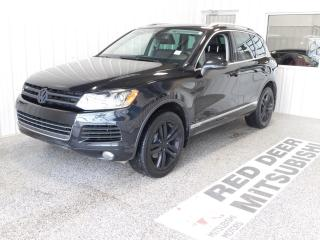 Used 2014 Volkswagen Touareg 3.6L Highline for sale in Red Deer, AB