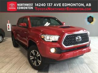 New 2018 Toyota Tacoma 4X4 Double Cab V6   TRD Sport Upgrade Manual SB for sale in Edmonton, AB