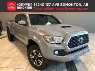 New 2019 Toyota Tacoma 4X4 Double Cab V6   TRD Sport Upgrade for sale in Edmonton, AB