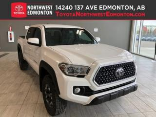 New 2019 Toyota Tacoma 4X4 Double Cab V6 TRD Off-Road (SHORT BOX) for sale in Edmonton, AB