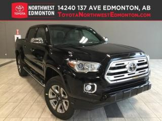 New 2019 Toyota Tacoma 4X4 Double Cab V6 Limited Short Box for sale in Edmonton, AB