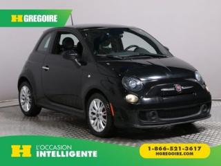 Used 2014 Fiat 500 SPORT TURBO A/C CUIR for sale in St-Léonard, QC