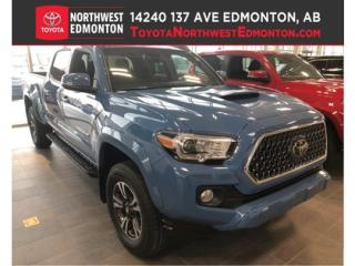New 2019 Toyota Tacoma 4X4 Double Cab V6   TRD Sport for sale in Edmonton, AB