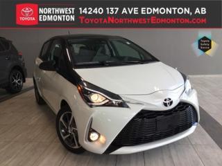 New 2018 Toyota Yaris 5-Door Hatchback SE for sale in Edmonton, AB