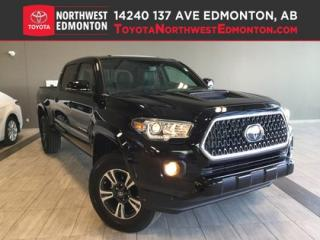 New 2019 Toyota Tacoma 4X4 Double Cab V6 | TRD Sport Upgrade for sale in Edmonton, AB