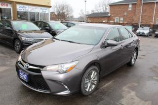 Used 2017 Toyota Camry SE Leather Heated Seats for sale in Brampton, ON