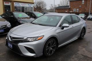 Used 2018 Toyota Camry SE Sunroof Leather for sale in Brampton, ON