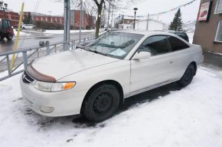 Used 2001 Toyota Camry 2DR CPE SE for sale in Mascouche, QC