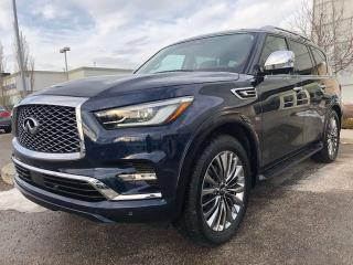 New 2019 Infiniti QX80 ProACTIVE PKG/8-PASSENGER for sale in Edmonton, AB