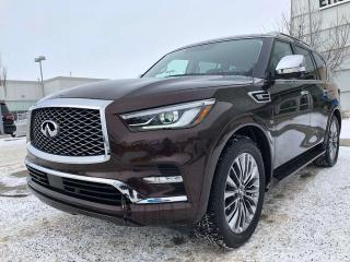 New 2019 Infiniti QX80 ProACTIVE PKG/7-PASSENGER for sale in Edmonton, AB