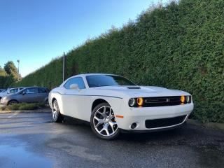Used 2016 Dodge Challenger SXT PLUS + LEATHER HEATED/VENT FT SEATS + SUNROOF + RR PARK ASSIST + BACK-UP CAMERA for sale in Surrey, BC