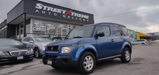 Used 2006 Honda Element w/Y Pkg | Air Conditioning | CD Player | AUX for sale in Markham, ON