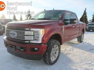 New 2019 Ford F-350 Super Duty SRW PLATINUM, 6.7L POWER STROKE DIESEL, FORDPASS CONNECT, VOICE-ACTIVATED NAVIGATION, REVERSE CAMERA SYSTEM, POWER RUNNING BOARDS, TWIN PANEL MOONROOFS for sale in Edmonton, AB