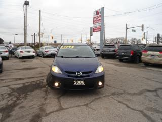 Used 2006 Mazda MAZDA5 GT AUTO GAS SAVER 6 PASSENGER A/C PW PL PM SUNROOF for sale in Oakville, ON