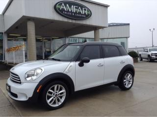 Used 2012 MINI Cooper Countryman HEATED SEATS / AUTO / NO PAYMENTS FOR 6 MONTHS !! for sale in Tilbury, ON
