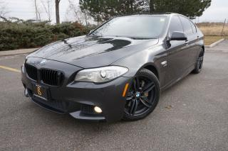 Used 2011 BMW 5 Series 550i - M Sport / Navi / Heads UP / Night Vision for sale in Etobicoke, ON