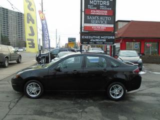 Used 2011 Ford Focus SES / LOADED/ LEATHER / ROOF / ALLOYS / CERTIFIED/ for sale in Scarborough, ON