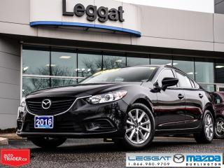 Used 2016 Mazda MAZDA6 GS-L AUTOMATIC, NAV, LEATHER, MOONROOF for sale in Burlington, ON