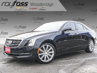 Used 2016 Cadillac ATS 2.0T SUNROOF, NAV, HEATED STEERING WHEE for sale in Woodbridge, ON
