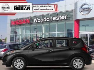 New 2019 Nissan Versa Note SV CVT  - Heated Seats - $131.41 B/W for sale in Mississauga, ON