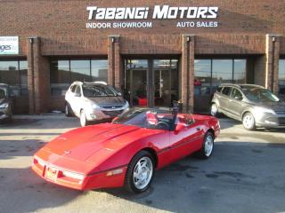 Used 1990 Chevrolet Corvette CONVERTIBLE | LEATHER | 5.7 V8 | SOFT TOP | AUTO for sale in Mississauga, ON