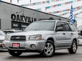 Used 2004 Subaru Forester 5dr Wgn XS for sale in Oakville, ON