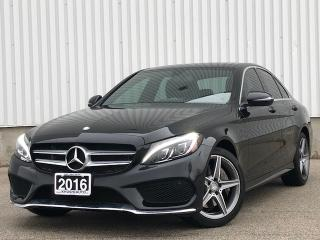 Used 2016 Mercedes-Benz C-Class CLEAN TITLE C300 4MATIC NAVI PANO ROOF FINANCING AVAILABLE for sale in Mississauga, ON