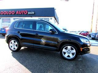 Used 2010 Volkswagen Tiguan SE 2.0T 4MOTION PANORAMIC BLUETOOTH SUNROOF CERTIFIED for sale in Milton, ON
