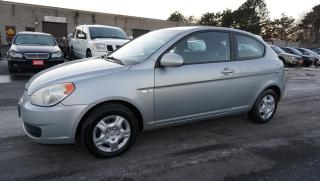 Used 2007 Hyundai Accent GS SR PKG Coupe Automatic Certified 2Yr Warranty *ACCIDENT FREE*POWER WINDOW* for sale in Milton, ON
